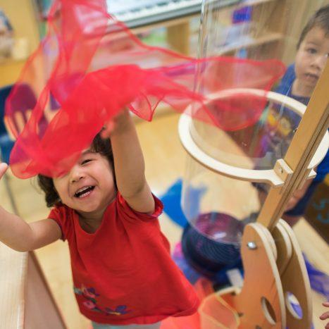 preschool happy children