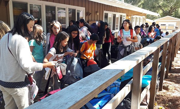 Science Camp Thrills 5th Graders
